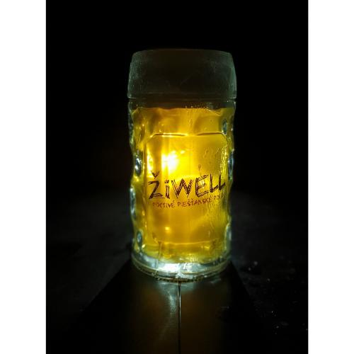 Pivný pohár ŽiWELL – krígel 0,3l