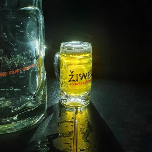 Pohár na pivovicu ŽiWELL – mini krígel 0,05l
