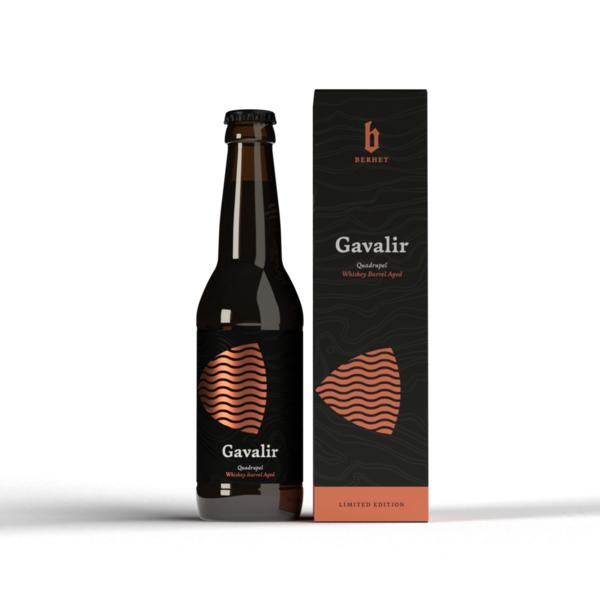 Gavalir Quadrupel Whiskey Barrel Aged
