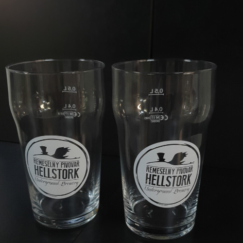 Pivný pohár Hellstork – NONIC 0,5l