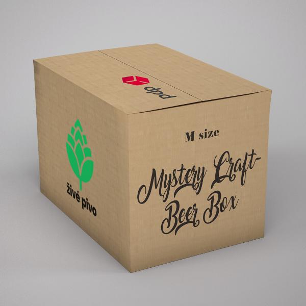 """Pivný MYSTERY box """"M"""""""