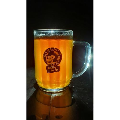 Pivný pohár Nachmelená opice – krígel 0,5l